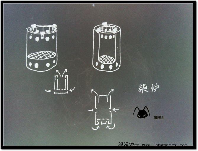 农村无烟柴火灶设计图展示