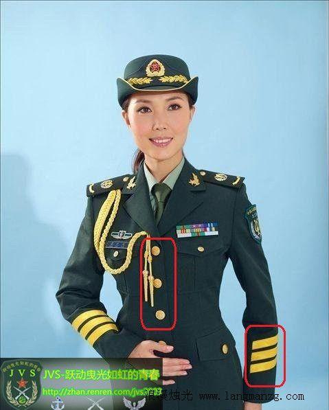 中国人民解放军07式军服科普4 07式礼服
